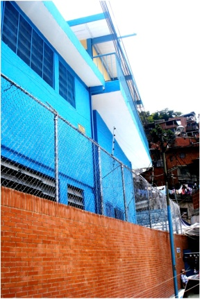 Francisco Espejo School in Caracas after Construyendo Futuros rebuilt it.