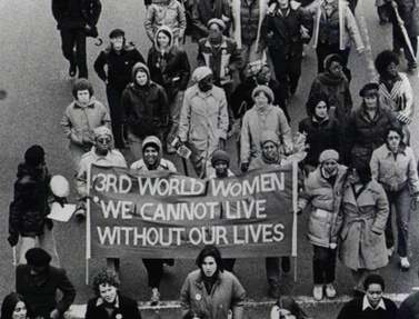 Third World Women's March, 1981. Photo courtesy of The Knotted Line