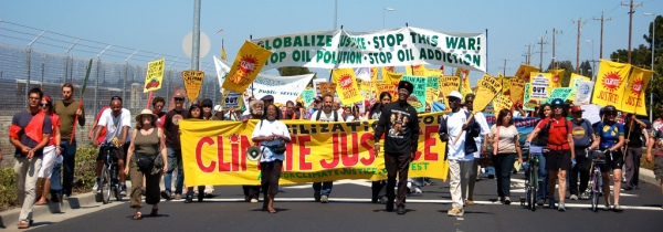 Photo courtesy of Mobilization for Climate Justice West