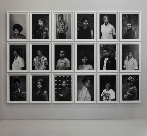 Faces and Phases Exhibition.  South African lesbian artist Zanele Muholi. Courtesy of artnews.org