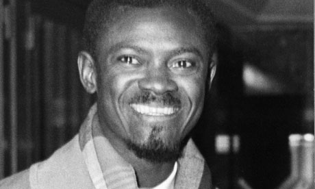 Patrice Lumumba, photo courtesy of The Guardian