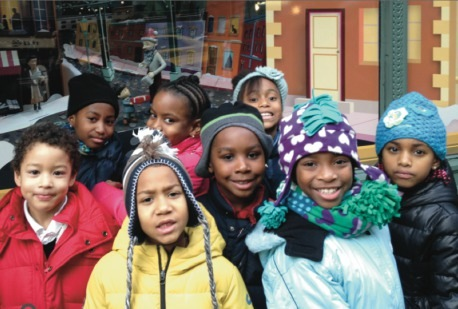 Elementary school students in Bedford-Stuyvesant, Brooklyn. Photo courtesy of Bed-Stuy.patch.com