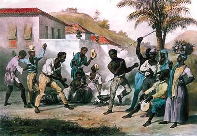 Historical Rendition of Capoeira. Image courtesy of Rio.com
