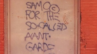 Graffitti by SAMO, Al Diaz and Jean-Michel Basquiat