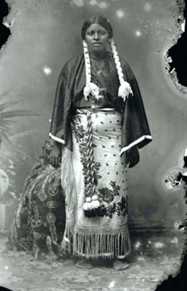 Diana Fletcher, Kiowa Tribe courtesy University of Oklahoma library