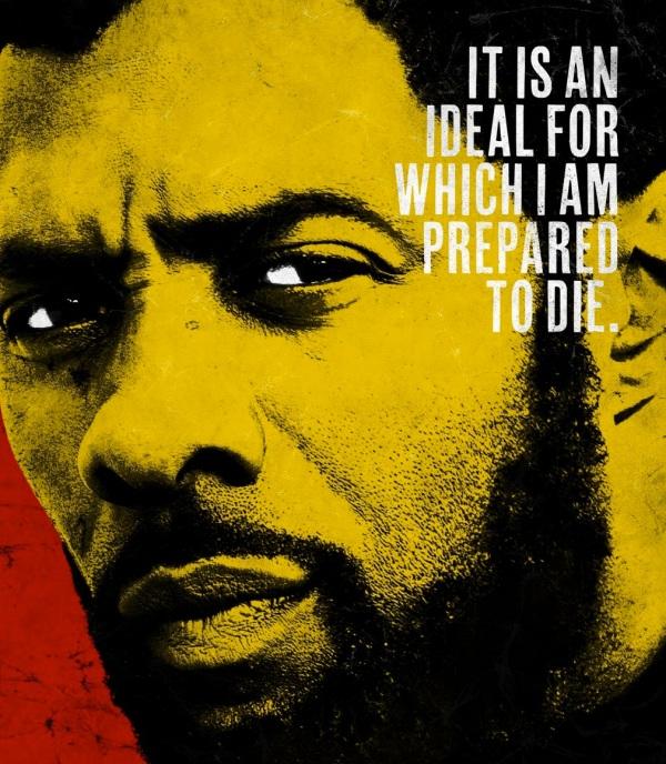 Idris Elba as Nelson Mandela. Courtesy Videovision Entertainment.