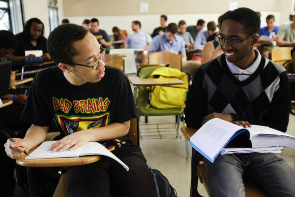 Berkeley Student Kashawn Campbell. photo by Bethany Mollenkof. courtesy Los Angeles Times