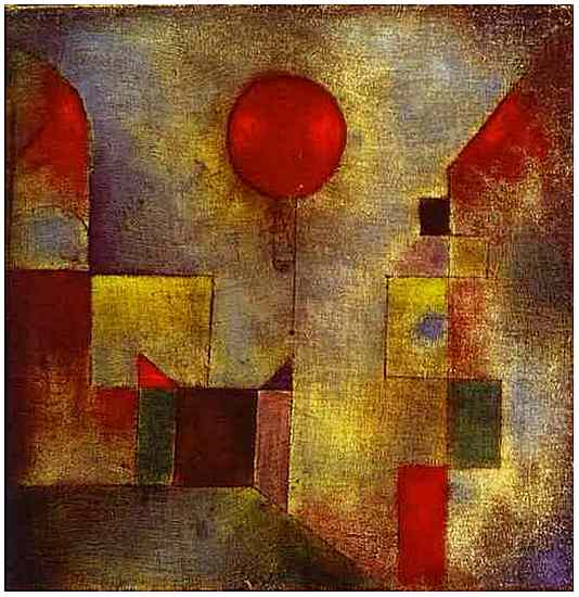 """The Red Balloon,"" by Paul Klee."