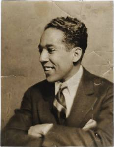 A very young Langston Hughes courtesy of ourblackstars.com.