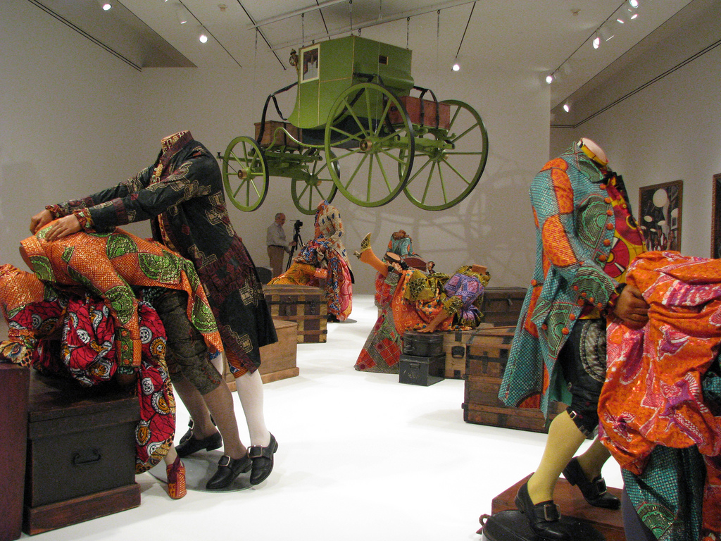 Empire In 3d The Installations Of Yinka Shonibare The