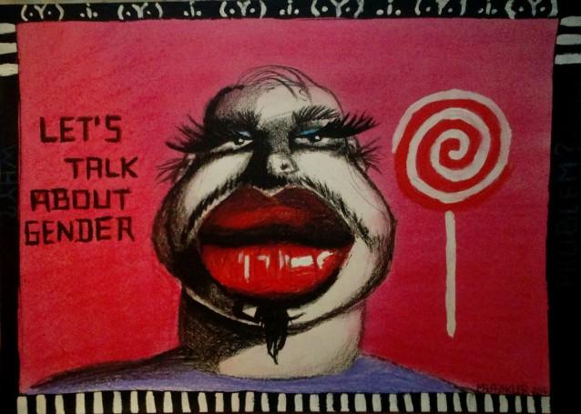 """""""Misogyny"""" courtesy of nessie666.deviantart,com"""