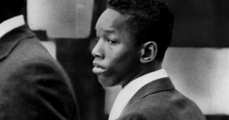 Khorey Wise during his 1989 trial. Image courtesy of PBS.com