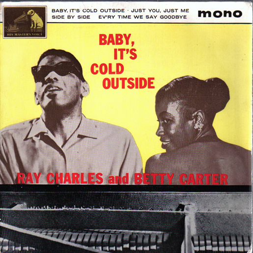 "Album Artwork for Ray Charles' and Betty Carter's ""Baby, It's Cold Outside"""