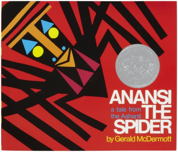 "Coverart of ""Anansi the Spider a tale from the Ashanti"""
