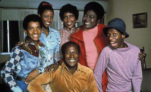 Good Times Family Cast. Image Courtesy of NPR.